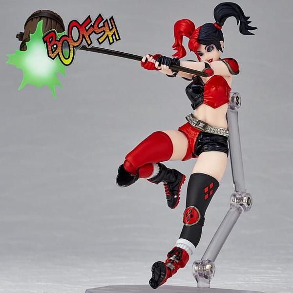 Harley Quinn Amazing Yamaguchi Revoltech Figure Revealed