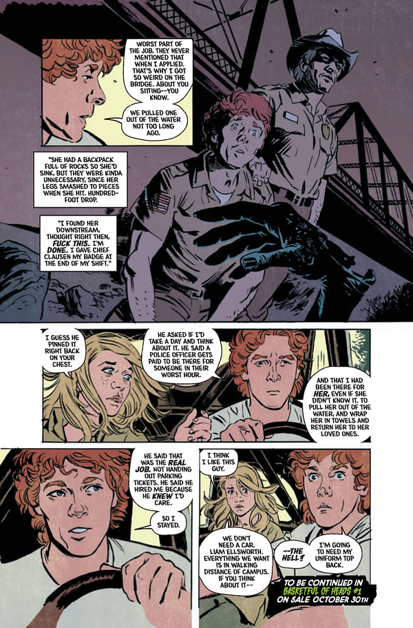 Joe Hill's Basketful Of Heads #1 Gains an Extra Head - Jumps From 6 Issues to 7