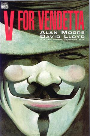 V For Vendetta Graphic Novel