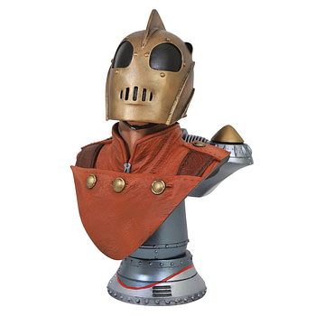 The Rocketeer and Mandalorian Get New a Busts from Diamond