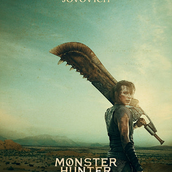 """Monster Hunter"" Posters Our First Look at Paul W.S. Anderson, Milla Jovovich, Tony Jaa Movie"