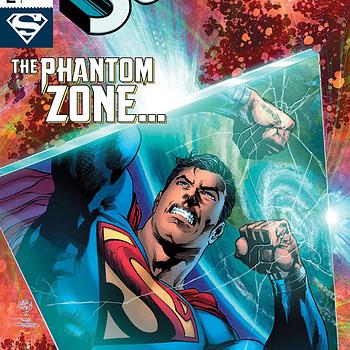 Superman #2 cover by Ivan Reis, Joe Prado, and Alex Sinclair