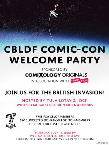 Bleeding Cool's Mammoth San Diego Comic-Con 2019 Party List
