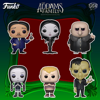 Funko Pop Round Up - AddamsFamily, Greatest Showman and More