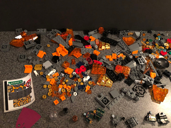 Let's Take a Look at LEGO Spider-Man: Far From Home's Molten Man Set