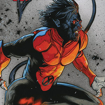 X-Men: Red #2 cover by Travis Charest