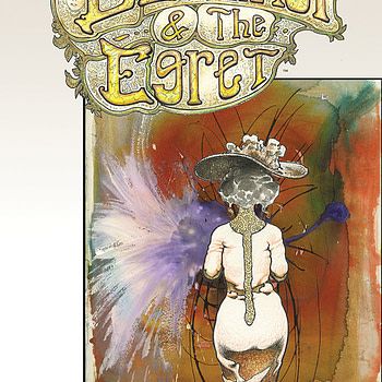 Eleanor and the Egret #5 cover by Sam Kieth