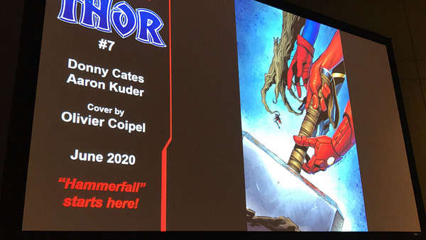 Thor to Have Trouble Getting it Up as Hammerfall Begins in Thor #7