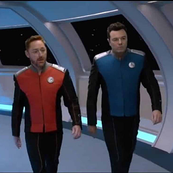 The Orville - Scott Grimes and Seth MacFarlane s02e10