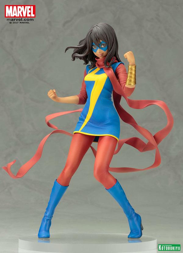 Me Marvel Kamala Kahn Kotobukiya Bishoujo Statue