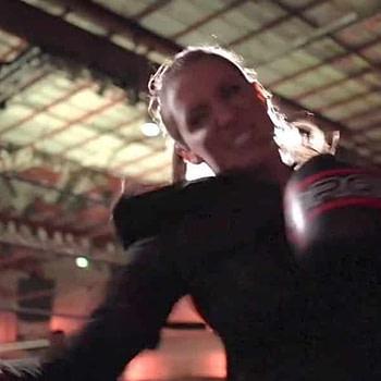 stephanie mcmahon trains for wrestlemania