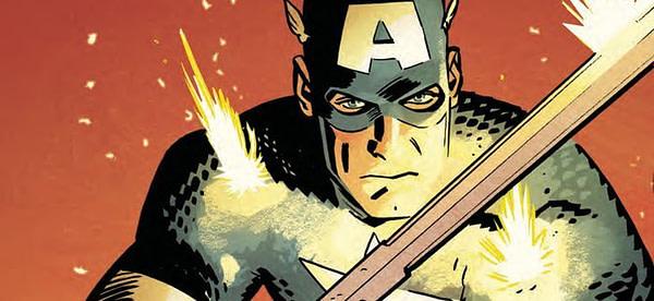 Captain America #696 cover by Chris Samnee and Matthew Wilson