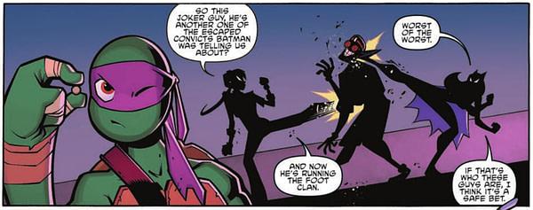 Batman TMNT Adventures #04 Panel 4
