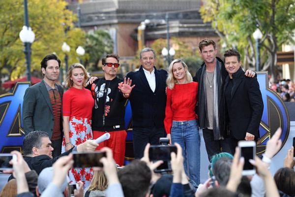 'Avengers: Endgame' Cast Invades Downtown Disney!