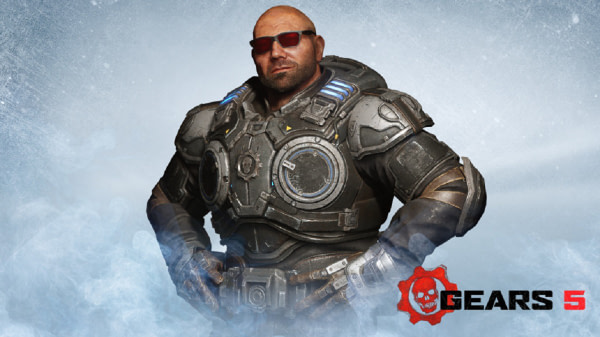 """Dave Batista Comes To """"Gears 5"""" As A Multiplayer Character"""