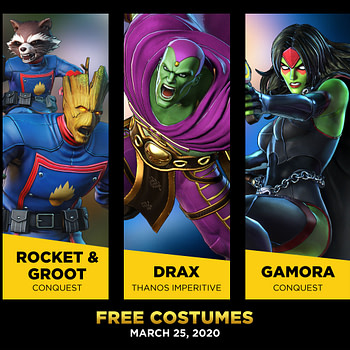 Marvel Ultimate Alliance 3 Guardians of the Galaxy Costumes