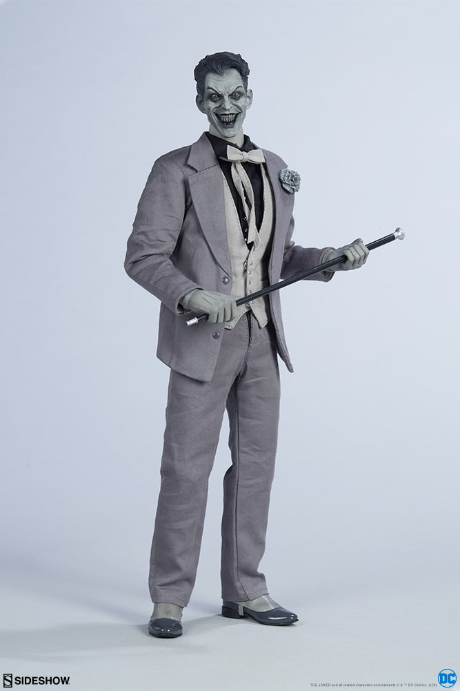 Batman and Joker Get Noir Makeovers with Sideshow Collectibles