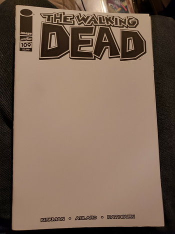 Another Walking Dead Blank Cover For #192