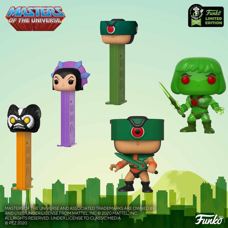 """Funko Emerald City Comic Con Reveals - """"Masters of the Universe"""""""