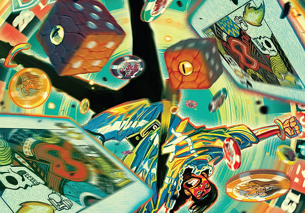 Doctor Strange #388 cover by Mike del Mundo