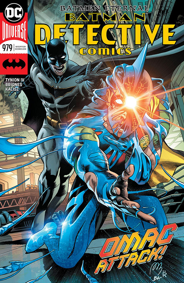 Batman: Detective Comics #979 cover by Brad Anderson, Raul Fernandez, and Alvaro Martinez