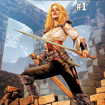 Age of Conan: Valeria - Finally, Another Conan Comic from Marvel in August