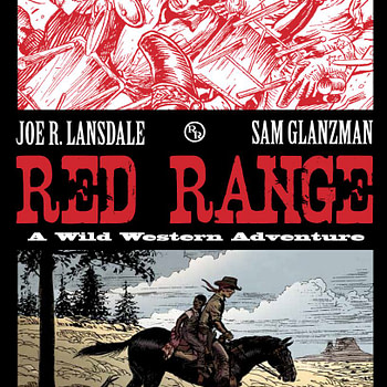 The cover to Red Range, one of the many comics published by It's Alive.