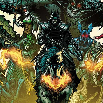 Dark Knights Rising: The Wild Hunt Cover by Doug Mahnke and Wil Quintana