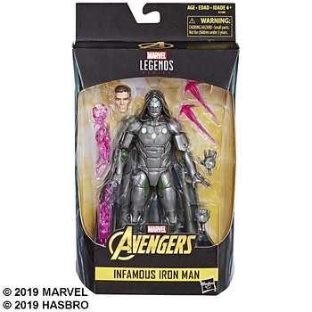 Marvel Legends Infamous Iron Man Packaged