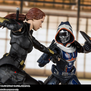 "Taskmaster Makes His ""Black Widow"" Debut with S.H. Figuarts Figure"