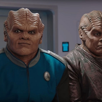 'The Orville' S2 Gag Reel Goes About the Way You Think it Would