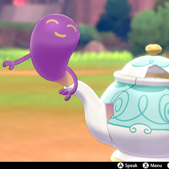 """Haunted Teapots are Coming to """"Pokémon Sword & Shield"""""""