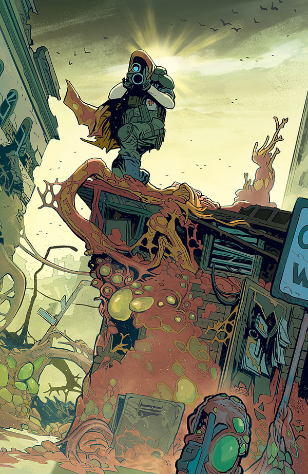 Oblivion Song #1 art by Lorenzo di Felici and Annalise Leoni
