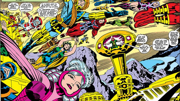 What Might Avengers: No Road Home #10 Mean For The Eternals? (Spoilers)