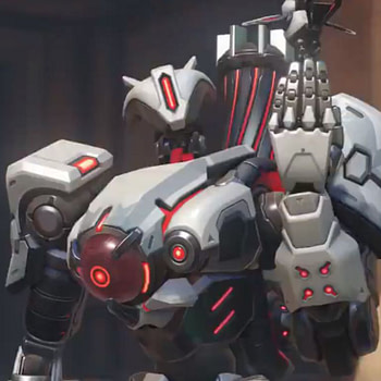 Overwatch Reveals a New Scary Skin for Bastion Before Storm Rising