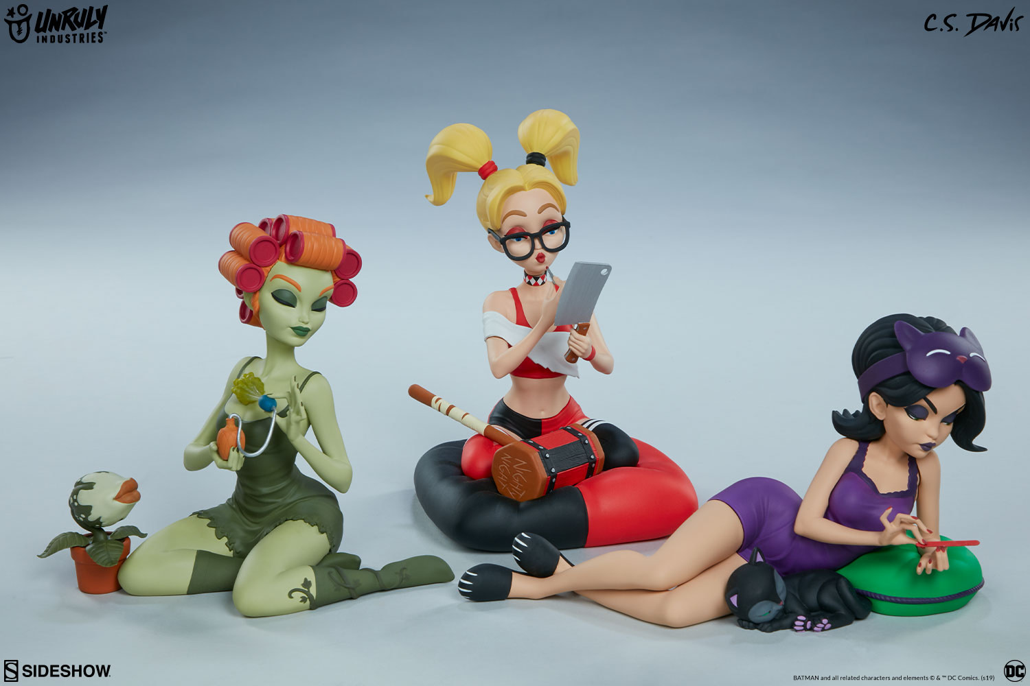 Harley Quinn and the Sirens Have a Sleepover With Unruly Industries