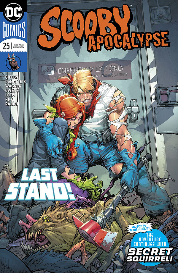 Scooby Apocalypse #25 cover by Howard Porter and Hi-Fi