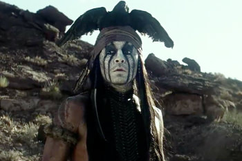 johnny depp is tonto