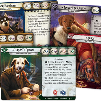 "Fantasy Flight Games Actually Releases ""Barkham Horror"""