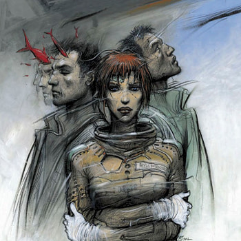 I Was Trying To Describe You To Someone: Monster by Enki Bilal