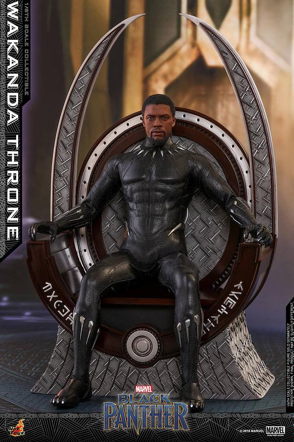 Black Panther Wakanda Throne Hot Toys 2