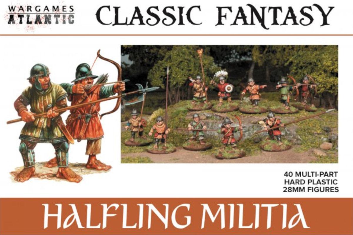 Wargames Atlantic Brings Halfling Miniatures to Life