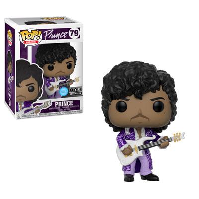 Funko Pop Rocks Prince Glitter Exclusive