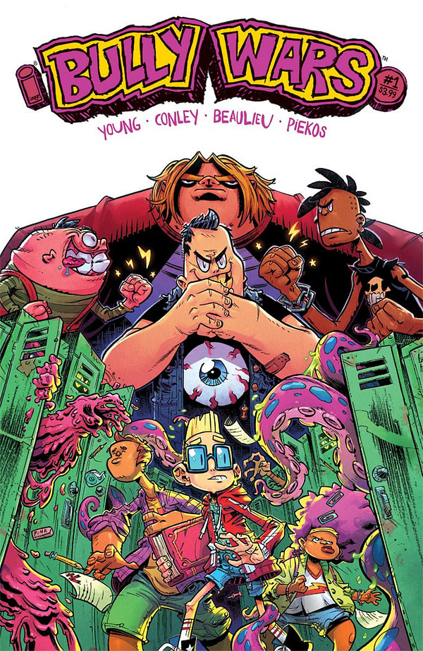 Bully Wars #1 cover by Aaron Conley