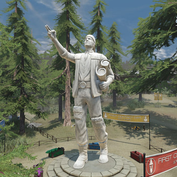 Star Trek Online First Contact Day Statue