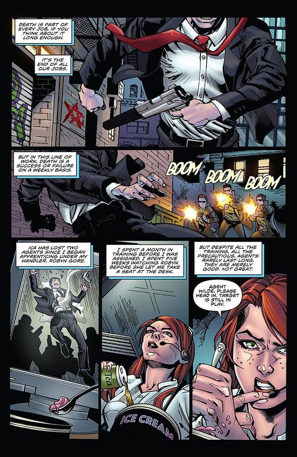Agent 47: Birth of a Hitman #6 art by Ariel Medel and Omi Remalante