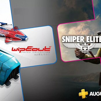 WipEout Omega Collection and Sniper Elite 4 are Free with PS Plus