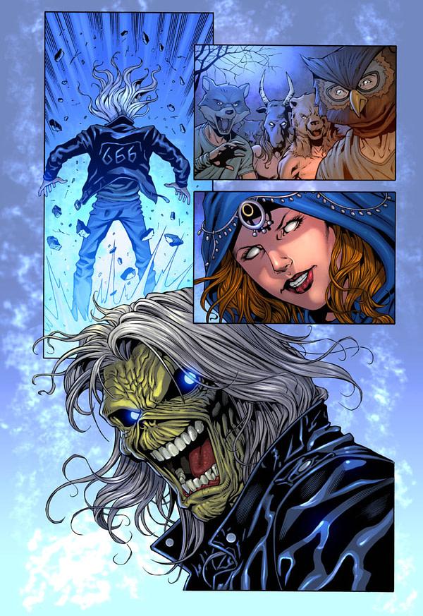 iron maiden comics