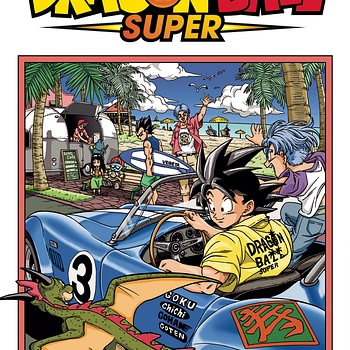 Dragonball Super VIZ Media July 2018 Solicits