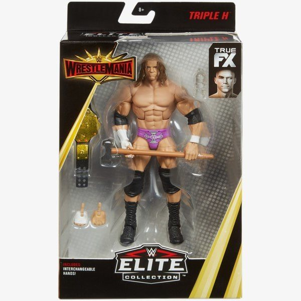 Mattel WWE Wrestlemania 35 Elite Figure Triple H 1